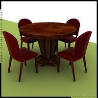 3d italian style table