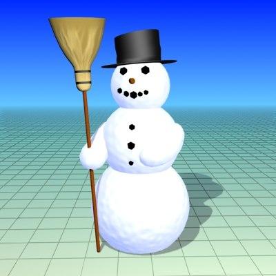 free max mode snowman snow man