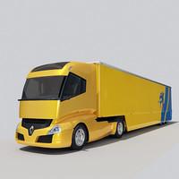 renault radiance 3d model