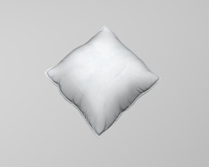 pillow 3d model