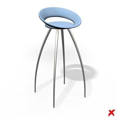 bar stool 3d ma