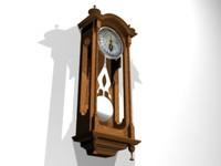 vienna clock 3d model