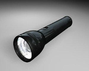 3dsmax flashlight light