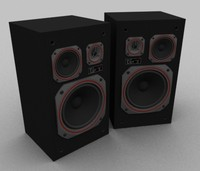3d max unitra space 70 speakers