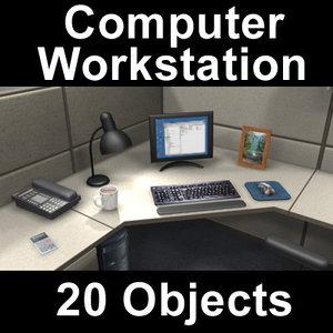 computer workstation 3d max