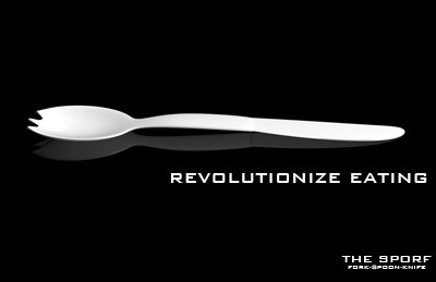 eating spoon fork knife 3d model
