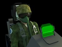 Pilot-EjectorSeat 3DSMax
