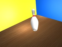 3d bowling pin