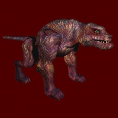 3dsmax hell beast