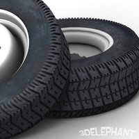 Truck Tires (2 styles)