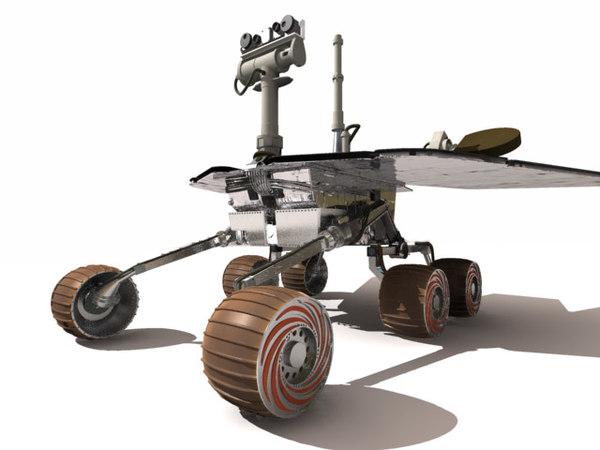 mars rover 3d max