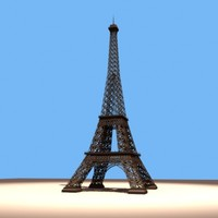 maya eiffel tower landmark