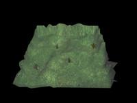3ds max terrain hills