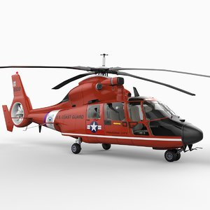 as365n hh-65a dolphin 3d model