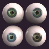 Eyes 3d Model