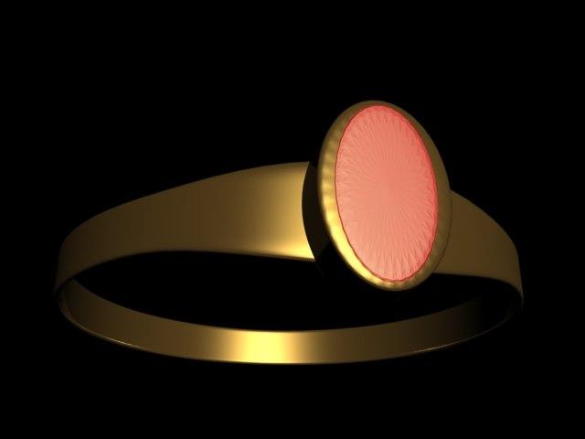 free ring close 3d model