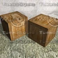 Wood box K007