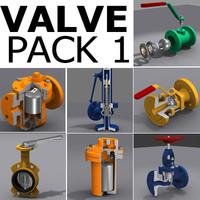3d valve pack 1 model