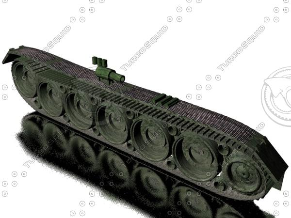 tank wheels 3d max