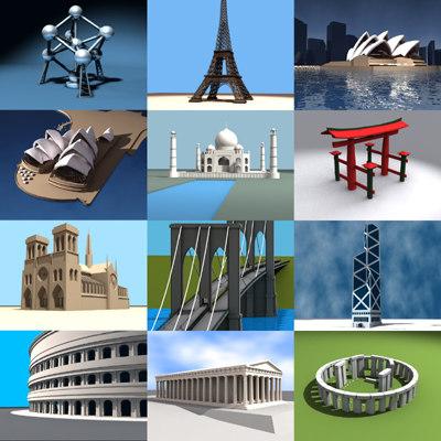 landmark tower bridge 3d model
