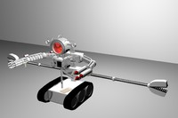 3ds max warbot robot