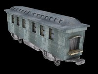 3d passager train