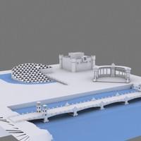 3d model land stanly