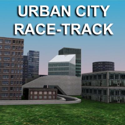 maya city race track urbanized