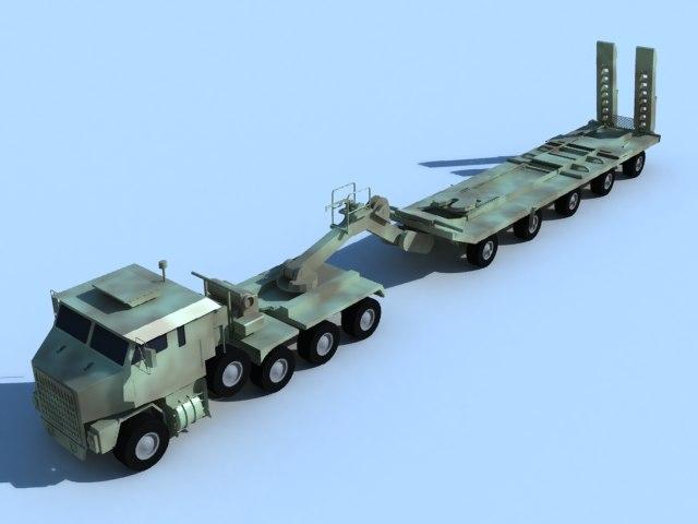maya heavy equipment transport