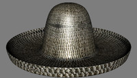 free mexican hat 3d model