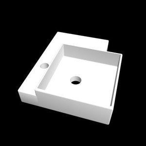 3d model suburban basin