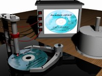 cd labeler 3d max
