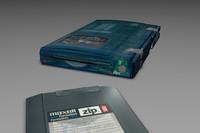 Iomega USB Zip Drive w/ Disk