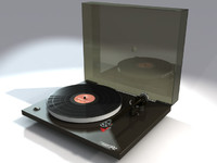 rega p2 turntable 3d max