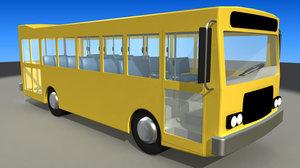 maya simple bus