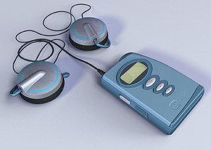virgin pulse player 3d model