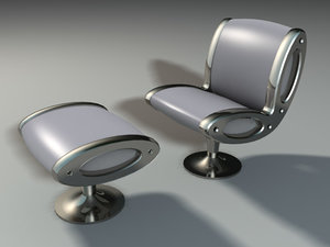 3ds max chair moroso gluon