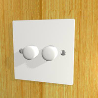 3ds double dimmer switch