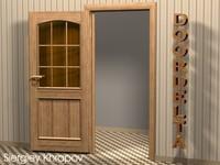 3d model interior door