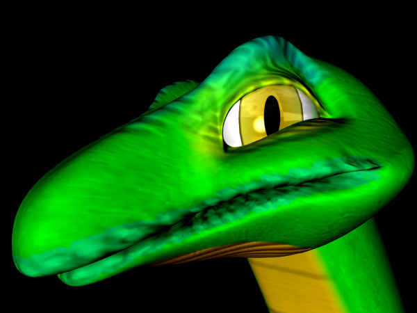 humphrey snake 3d model