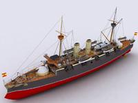3d model vizcaya ships