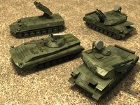 russian army vehicles 3d max