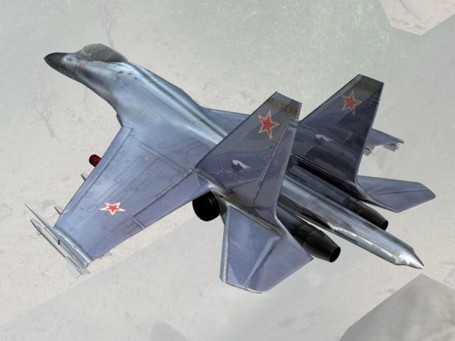 3d model plane su
