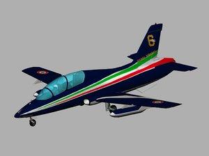 aermacchi pan 339a 339 3d max
