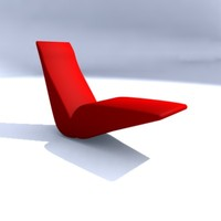 bird chair 3d model
