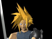 Cloud Strife Model.max