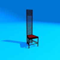 mackingtosh chair 2 3ds