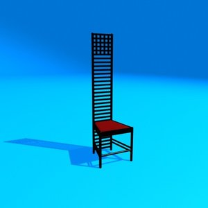 mackingtosh chair 2 3ds