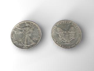 american silver eagle 3d c