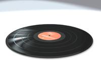 vinyl record 3d model